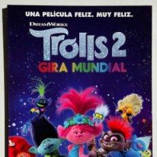Cine: CUADRO DE LA PELÍCULA TROLLS 2 - GIRA MUNDIAL. Lote 270520083