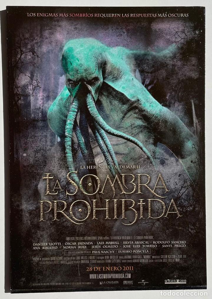 CUADRO DE LA PELÍCULA LA SOMBRA PROHIBIDA (Cine - Posters y Carteles - Suspense)