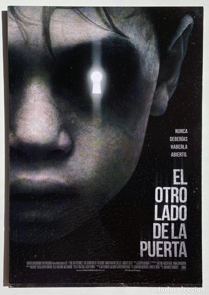 CUADRO DE LA PELÍCULA EL OTRO LADO DE LA PUERTA (Cine - Posters y Carteles - Suspense)