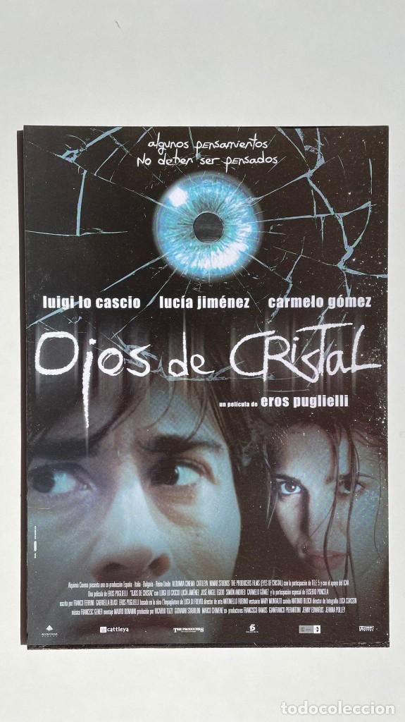 CUADRO DE LA PELÍCULA OJOS DE CRISTAL (Cine - Posters y Carteles - Suspense)