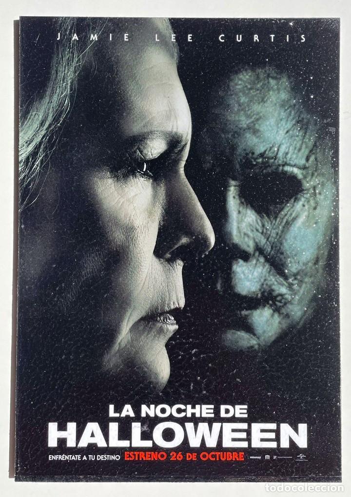 CUADRO DE LA PELÍCULA LA NOCHE DE HALLOWEEN (Cine - Posters y Carteles - Suspense)