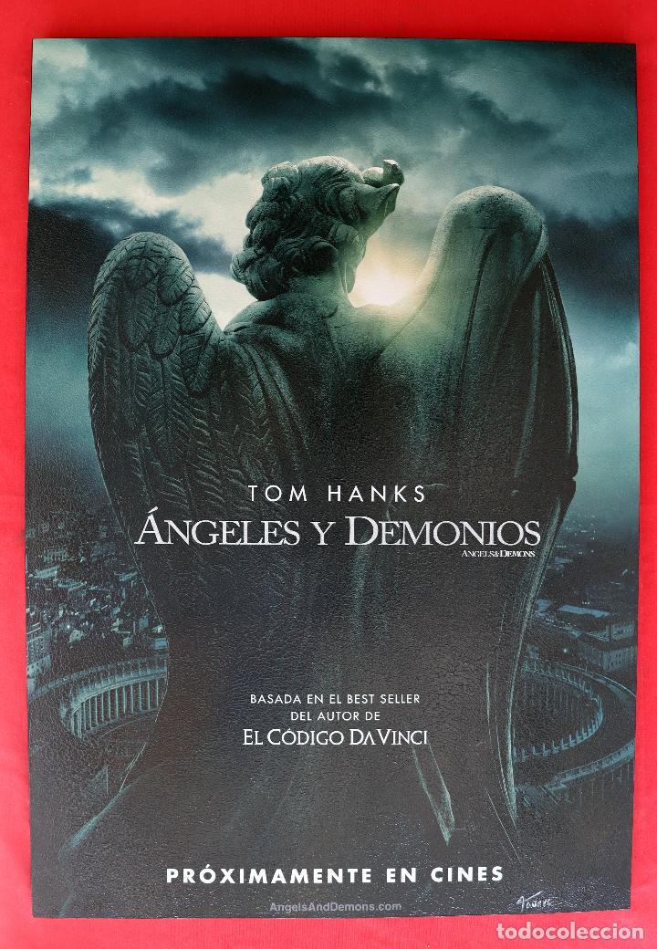 CUADRO DE LA PELÍCULA ANGELES Y DEMONIOS (Cine - Posters y Carteles - Suspense)