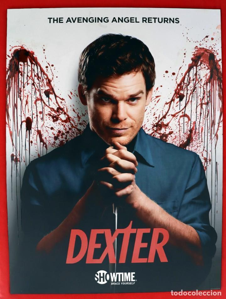 CUADRO DE LA SERIE DEXTER (Cine - Posters y Carteles - Suspense)