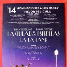 Cine: CUADRO DE CINE LA LA LAND. HECHO A MANO. Lote 270548618