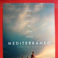 Cine: PÓSTER DE LA PELÍCULA: MEDITERRÁNEO. Lote 270574943