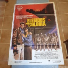 Cine: CARTEL ORIGINAL, ELEGIDOS PARA LA GLORIA, 1983/84, 100 X 70 CM, PLEGADO.. Lote 270577023