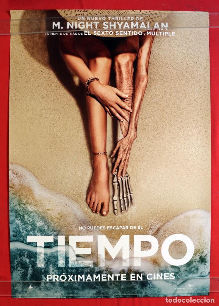 PÓSTER DE LA PELÍCULA: TIEMPO (Cine - Posters y Carteles - Suspense)