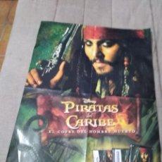 Cine: POSTER PIRATAS DEL CARIBE. Lote 270642568
