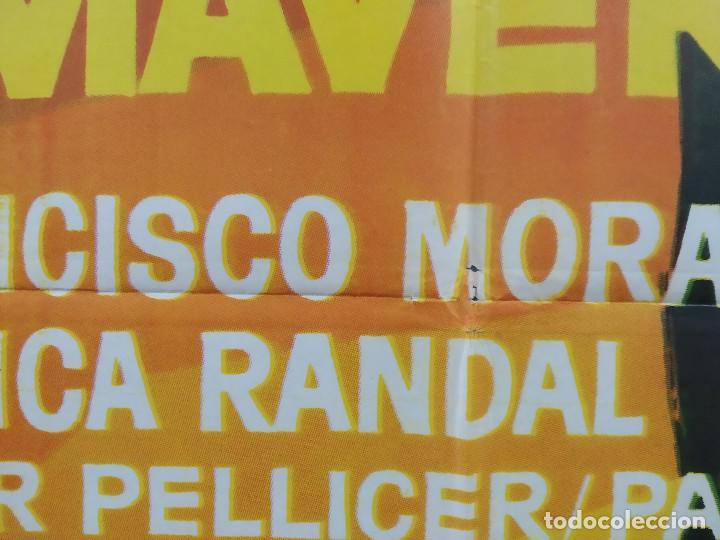 Cine: MUERTE EN PRIMAVERA. MONICA RANDAL, FRANCISCO MORAN. AÑO 1973 POSTER ORIGINAL - Foto 5 - 270693083