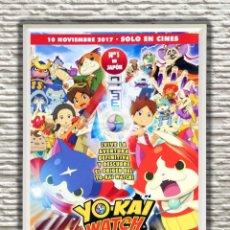 Cine: PÓSTER ORIGINAL CON CUADRO DE LA PELÍCULA: YO-KAI. Lote 270889768