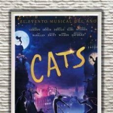 Cine: PÓSTER ORIGINAL CON CUADRO DE LA PELÍCULA: CATS. Lote 270889878