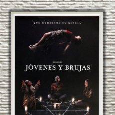 Cine: PÓSTER ORIGINAL CON CUADRO DE LA PELÍCULA: JÓVENES Y BRUJAS. Lote 270890388