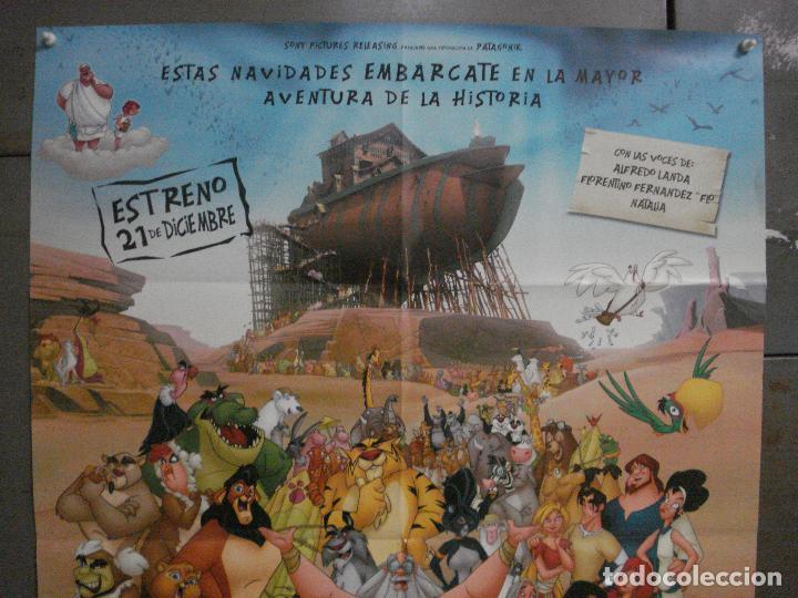 Cine: CDO L108 EL ARCA DE NOE ANIMACION POSTER ORIGINAL 70X100 ESTRENO - Foto 2 - 270915153