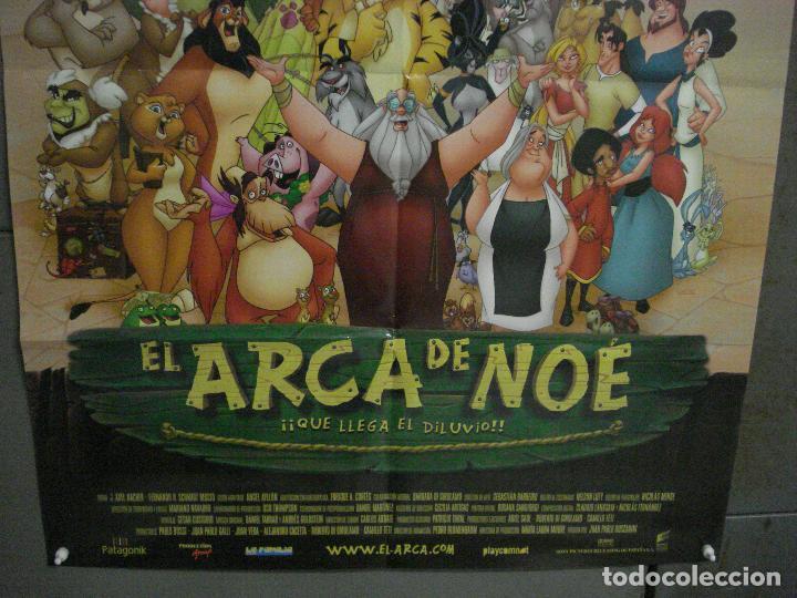 Cine: CDO L108 EL ARCA DE NOE ANIMACION POSTER ORIGINAL 70X100 ESTRENO - Foto 3 - 270915153
