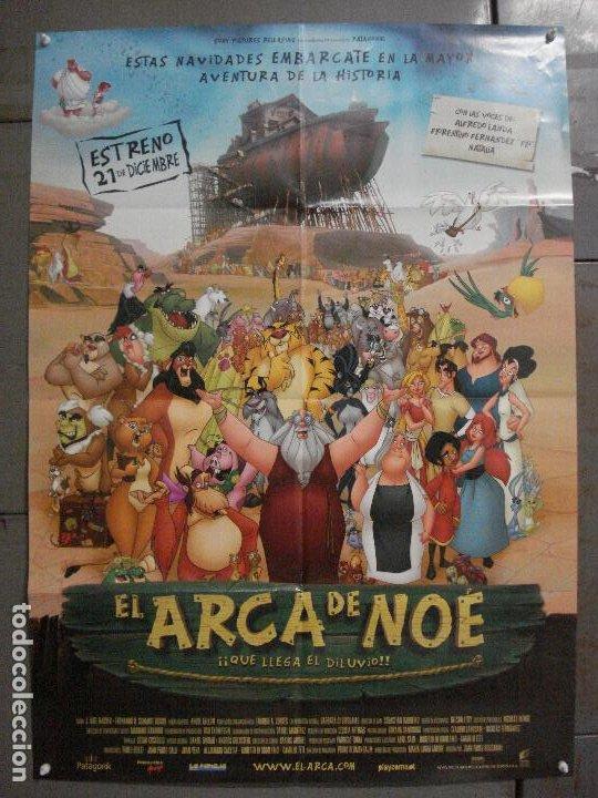CDO L108 EL ARCA DE NOE ANIMACION POSTER ORIGINAL 70X100 ESTRENO (Cine - Posters y Carteles - Infantil)