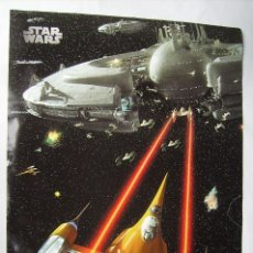 Cine: STAR WARS, CON HARRISON FORD. PÓSTER 64 X 90 CMS.. Lote 271003193