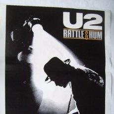 Cine: U2, RATTLE E HUM, THE MOVIE. PÓSTER 70 X 100 CMS.. Lote 271006763