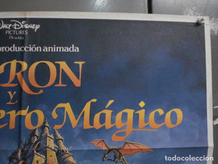 Cine: CDO L137 TARON Y EL CALDERO MAGICO WALT DISNEY POSTER ORIGINAL ESTRENO 70X100 - Foto 6 - 271068618