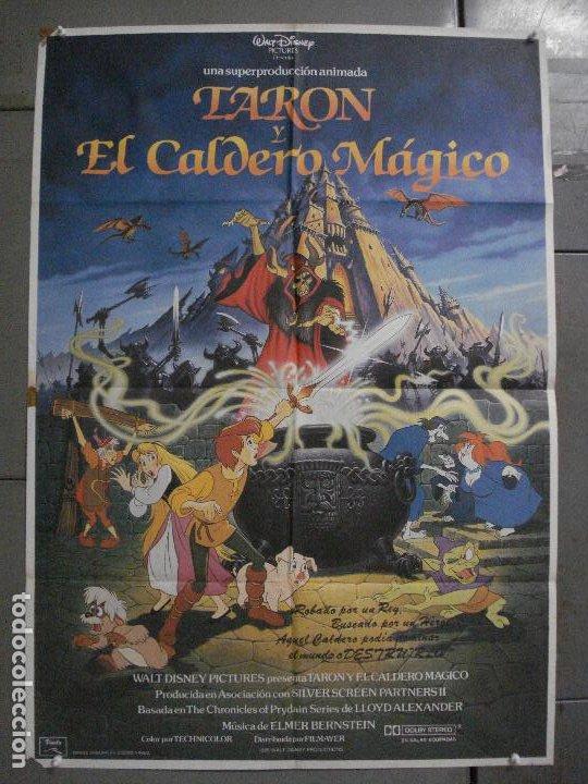 CDO L137 TARON Y EL CALDERO MAGICO WALT DISNEY POSTER ORIGINAL ESTRENO 70X100 (Cine - Posters y Carteles - Infantil)