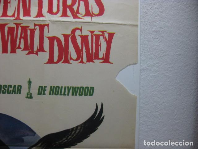 Cine: las mejores aventuras de la naturaleza de walt disney - poster cartel original - documental L - Foto 2 - 271073858