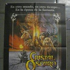Cine: CDO L141 CRISTAL OSCURO FRANK OZ JIM HENSON CIENCIA FICCION POSTER ORIGINAL 70X100 ESTRENO. Lote 271078983
