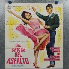 Cine: LAS CHICAS DEL ASFALTO. CUARTETO ROLAND HANNA . MUSICAL. AÑO 1967. POSTER ORIGINAL. Lote 271135248
