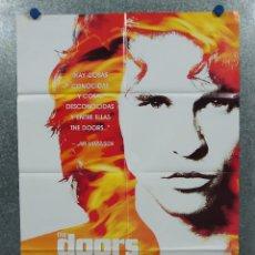 Cine: THE DOORS. VAL KILMER, MEG RYAN, KEVIN DILLON. AÑO 1991. POSTER ORIGINAL. Lote 271153173