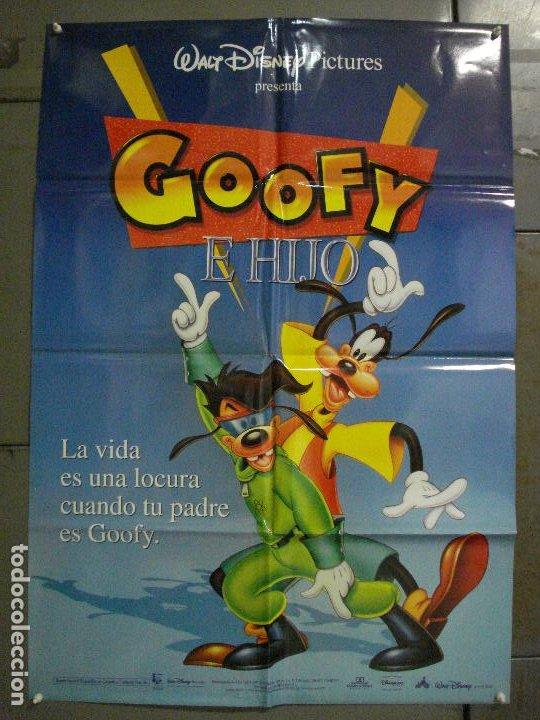 CDO L170 GOOFY E HIJO WALT DISNEY POSTER ORIGINAL 70X100 ESTRENO (Cine - Posters y Carteles - Infantil)
