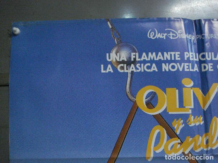 Cine: CDO L173 OLIVER Y SU PANDILLA WALT DISNEY POSTER ORIGINAL 70X100 ESTRENO - Foto 2 - 271359228