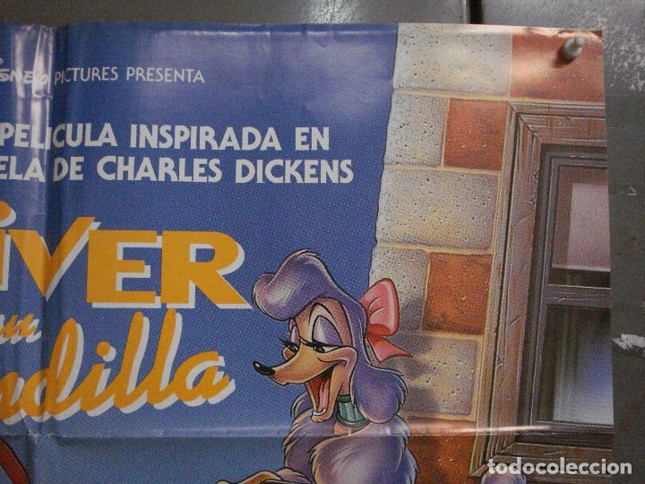 Cine: CDO L173 OLIVER Y SU PANDILLA WALT DISNEY POSTER ORIGINAL 70X100 ESTRENO - Foto 6 - 271359228