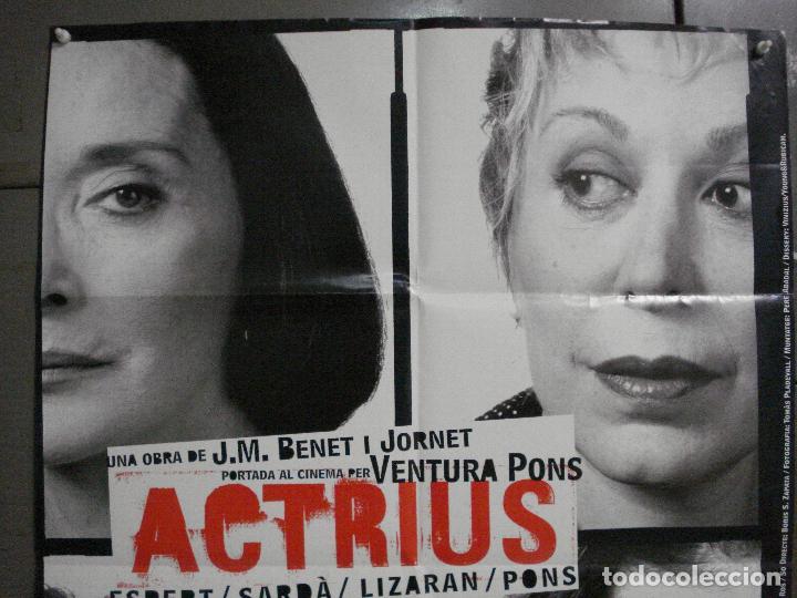 Cine: CDO L177 ACTRICES ACTRIUS ESPERT SARDA LIZARAN PONS BENET JORNET POSTER ORIG 70X100 ESTRENO CATALAN - Foto 2 - 271363228