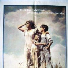Cine: UN LUGAR EN EL CORAZÓN, CON SALLY FIELD . POSTER 70 X 100 CMS.. Lote 271372168