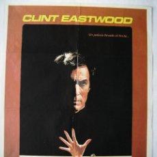 Cine: EN LA CUERDA FLOJA, CON CLINT EASTWOOD. POSTER. 70 X 100 CMS. 1984.. Lote 271375533