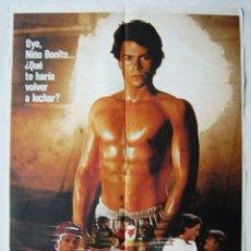 Cine: YOUNGBLOOD (FORJA DE CAMPEONES) CON ROB LOWE. POSTER 70 X 100. AÑO: 1986.. Lote 271440018