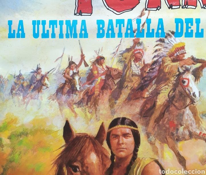 Cine: Cartel película Walt Disney TONKA en La Última Batalla del General Custer Filmayer Video 68 x 48 cm. - Foto 5 - 271519663