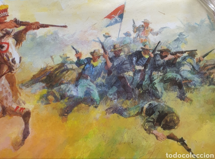 Cine: Cartel película Walt Disney TONKA en La Última Batalla del General Custer Filmayer Video 68 x 48 cm. - Foto 6 - 271519663