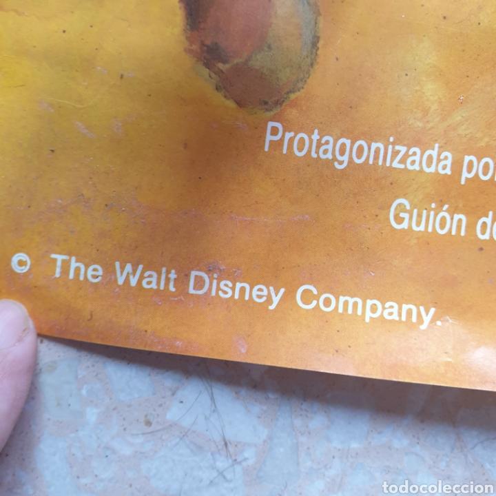 Cine: Cartel película Walt Disney TONKA en La Última Batalla del General Custer Filmayer Video 68 x 48 cm. - Foto 8 - 271519663