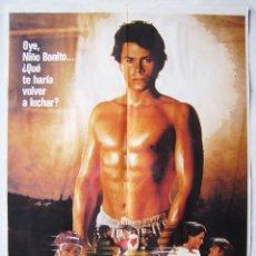 Cine: YOUNGBLOOD (FORJA DE CAMPEONES) CON ROB LOWE. POSTER 70 X 100. AÑO: 1986.. Lote 271595963
