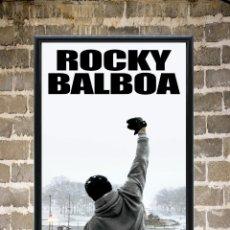 Cine: CUADRO ROCKY BALBOA CARTEL POSTER PELÍCULA ENMARCADO 30X20. Lote 271930013