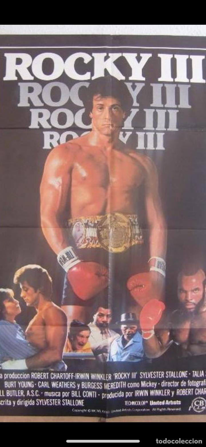 CARTEL. ROCKY III (STALLONE) (Cine - Posters y Carteles - Acción)