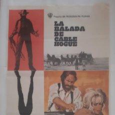 Cine: ANTIGUO CARTEL CINE LA BALADA DE CABLE HOGUE 1970 MAC P127 RV. Lote 272078833