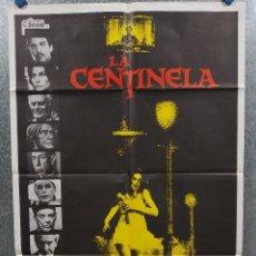 Cine: LA CENTINELA. CRISTINA RAINES, CHRIS SARANDON, BURGESS MEREDITH AÑO 1979. POSTER ORIGINAL. Lote 272203543