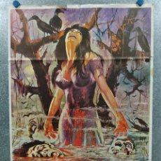 Cine: EL PANTANO DE LOS CUERVOS. RAMIRO OLIVEROS, MARCELLE BICHETTI. AÑO 1973. POSTER ORIGINAL. Lote 272208243