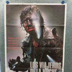 Cine: LOS VIAJEROS DE LA NOCHE. ADRIAN PASDAR, JENNY WRIGHT, LANCE HENRIKSEN. AÑO 1987. POSTER ORIGINAL. Lote 272463573