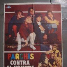 Cinema: CDO L315 PARCHIS CONTRA EL HOMBRE INVISIBLE POSTER ORIGINAL 70X100 ESTRENO. Lote 272642898