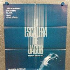 Cine: LA ESCALERA DE JACOB. TIM ROBBINS, ELIZABETH PEÑA, DANNY AIELLO. AÑO 1990. POSTER ORIGINAL. Lote 272965053