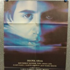 Cinema: LA MUERTE DE MIKEL. IMANOL ARIAS, AMAIA LASA. POSTER ORIGINAL. Lote 273742683