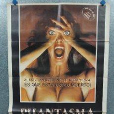 Cine: PHANTASMA. A. MICHAEL BALDWIN, ANGUS SCRIMM, BILL THORNBURY. AÑO 1981. POSTER ORIGINAL. Lote 273981588