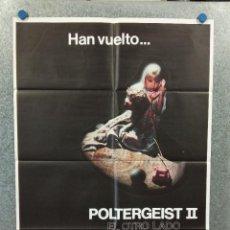 Cine: POLTERGEIST II - HAN VUELTO.... EL OTRO LADO. POSTER ORIGINAL. Lote 274216423
