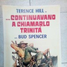 Cine: TERENCE HILL...CONTINUAVANO A CHIAMARLO TRINITA, CON BUD SPENCER. Lote 274343358